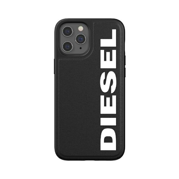 DIESELディーゼルiPhone12ProMax6.7インチ対応MouldedCaseCoreFW20BK/WH42493