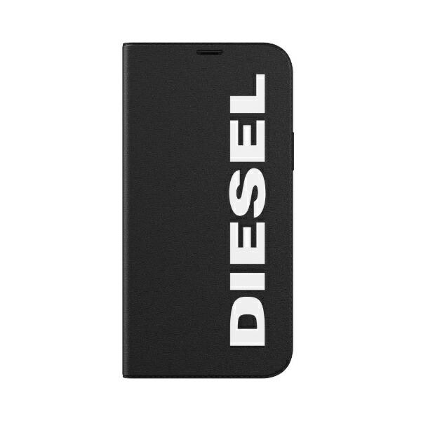 DIESELディーゼルiPhone12/12Pro6.1インチ対応BookletCaseCoreFW20BK/WH42486