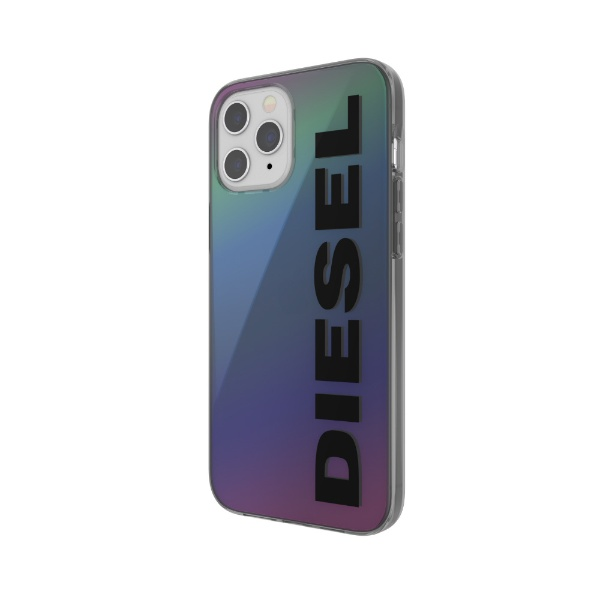 DIESELディーゼルiPhone12ProMax6.7インチ対応SnapCaseClearFW20Holograph42574