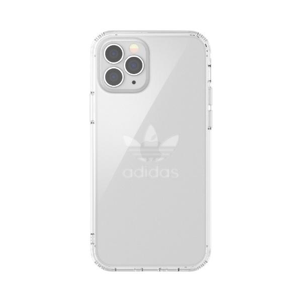 アディダスadidasiPhone12/12Pro6.1インチ対応ORProtectiveClearCaseFW20クリア42382