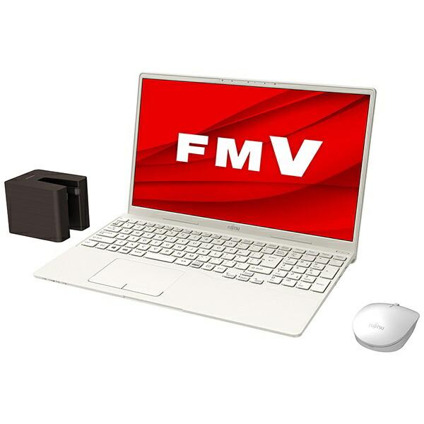富士通FUJITSUFMVT77E3WBノートパソコンLIFEBOOKTH77/E3アイボリーホワイト[15.6型/intelCorei7/Optane:32GB/SSD:512GB/メモリ:8GB/2020年冬モデル]【point_rb】