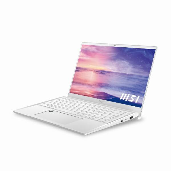MSIエムエスアイノートパソコンPrestige14EvoピュアホワイトPrestige-14Evo-A11M-785JP[14.0型/intelCorei7/SSD:512GB/メモリ:16GB/2020年11月モデル]