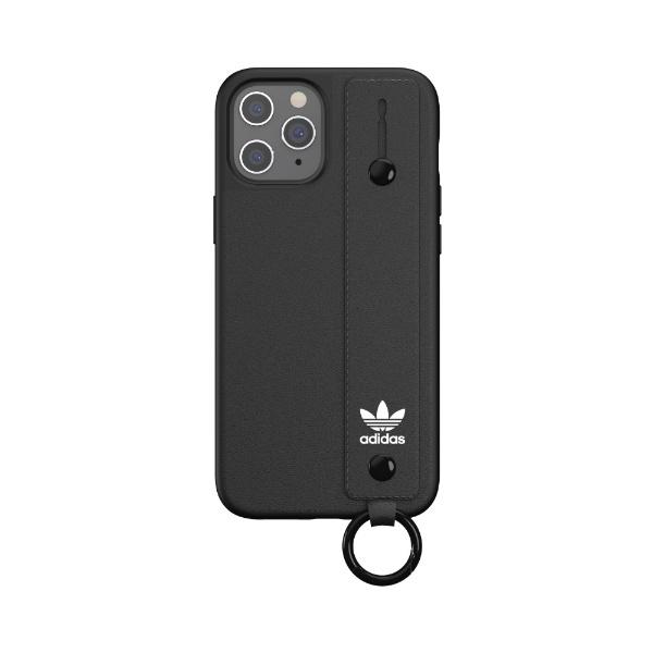 アディダスadidasiPhone12ProMax6.7インチ対応ORHandStrapCaseFW20ブラック42395