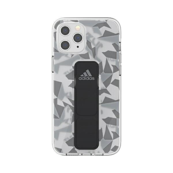 アディダスadidasiPhone12ProMax6.7インチ対応SPClearGripCaseFW20GY/BK42447