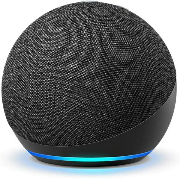AmazonアマゾンEchoDot(エコードット)第4世代-スマートスピーカーwithAlexaチャコールB084DWX1PV[Bluetooth対応/Wi-Fi対応]
