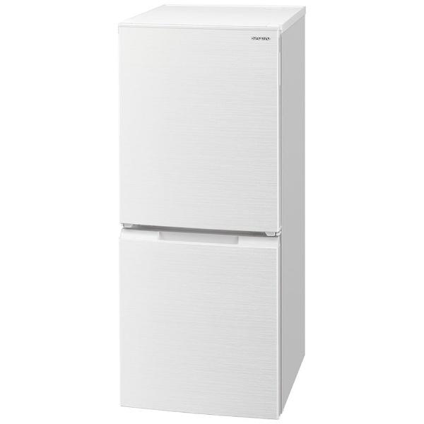 シャープSHARP冷蔵庫ホワイト系SJ-D15G-W[2ドア/右開き/左開き付け替えタイプ/152L][冷蔵庫一人暮らし小型新生活]