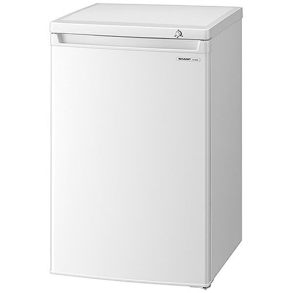 シャープSHARP冷凍庫ホワイト系FJ-HS9G-W[1ドア/右開きタイプ/86L]