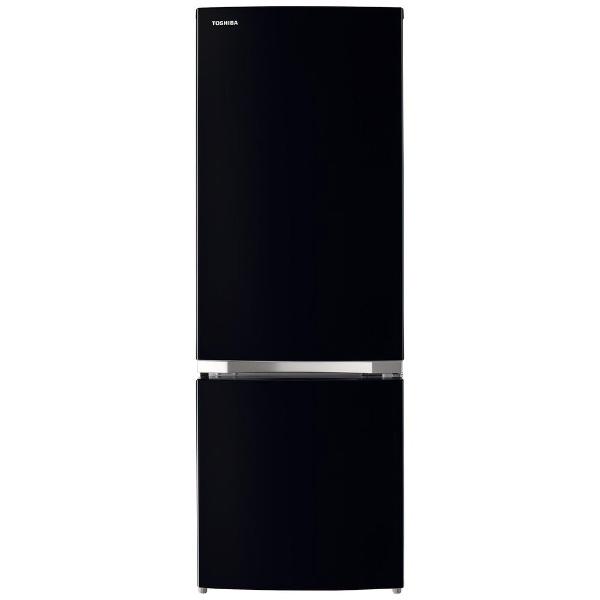 東芝TOSHIBA冷蔵庫VEGETA(ベジータ)BSシリーズセミマットブラックGR-S17BS-K[2ドア/右開きタイプ/170L][冷蔵庫一人暮らし小型新生活]【2111_rs】