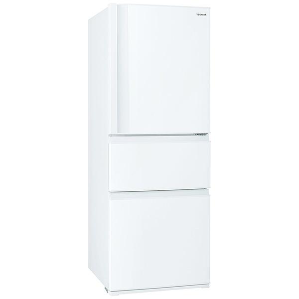 東芝TOSHIBA冷蔵庫VEGETA(ベジータ)SCシリーズグレインホワイトGR-S33SC-WT[3ドア/右開きタイプ/326L]《基本設置料金セット》【point_rb】