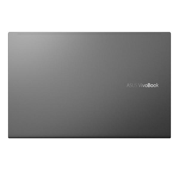 ASUSエイスースノートパソコンVivoBook15インディーブラックK513EA-BQ614T[15.6型/intelCorei7/HDD:1TB/SSD:256GB/メモリ:8GB/2020年12月モデル]