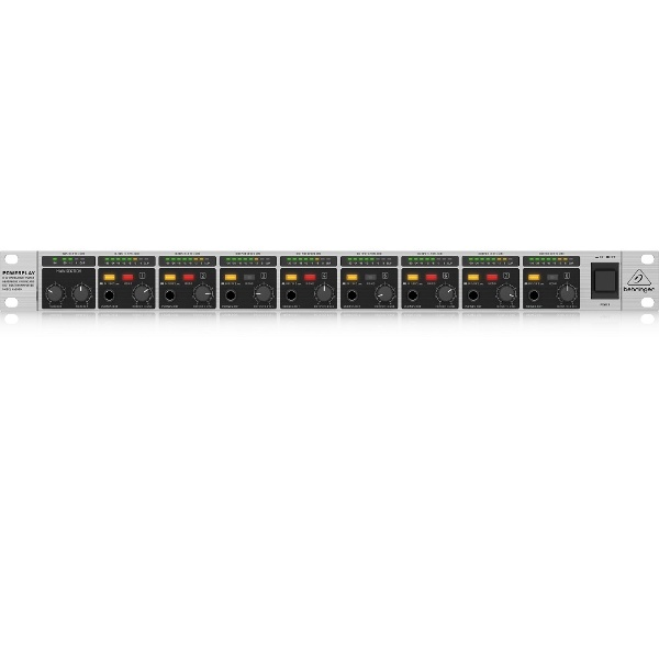 behringerベリンガー8chプロフェッショナル・ステレオ・ヘッドホンアンプ1UラックマウントHA8000V2