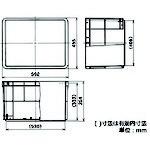 矢崎化工YAZAKIYAZAKIポリテナー77LブルーPT-75STB10