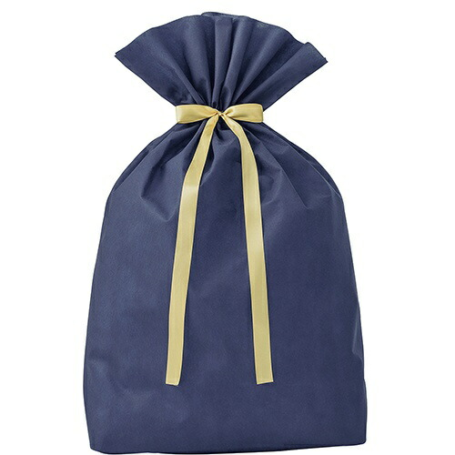 ササガワSASAGAWA巾着袋超BIGネイビー50-3960
