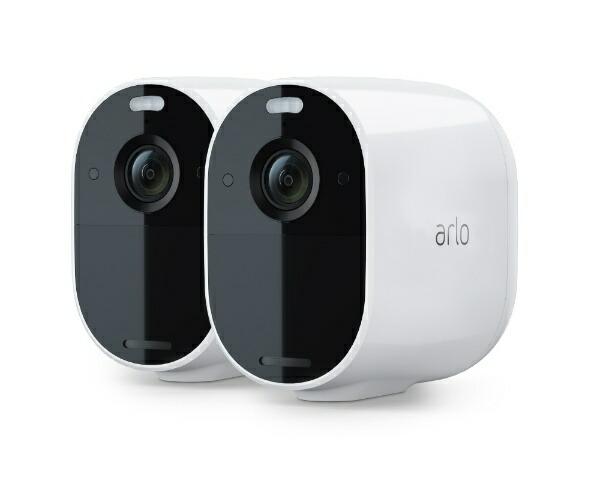 ArloアーロArloEssentialカメラ2台モデルVMC2230-100APS[フルHD/暗視対応/無線接続/屋外対応]