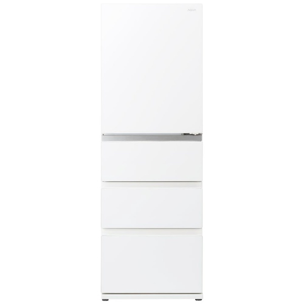AQUAアクア冷蔵庫Delie(デリエ)シリーズクリアウォームホワイトAQR-VZ43K-W[4ドア/右開きタイプ/430L]《基本設置料金セット》