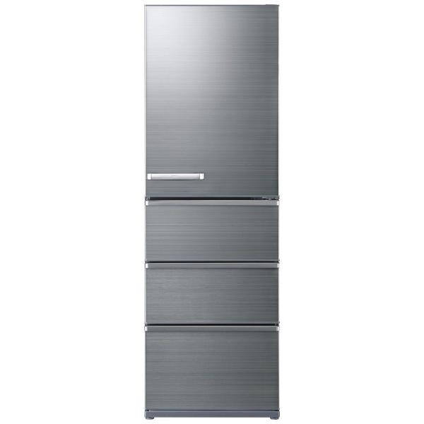 AQUAアクア冷蔵庫チタニウムシルバーAQR-V46K-S[4ドア/右開きタイプ/458L]《基本設置料金セット》