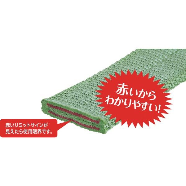 キトーKITOキトーキトーポリエスタースリングBSH形1.6t40mm×4mBSH016-4
