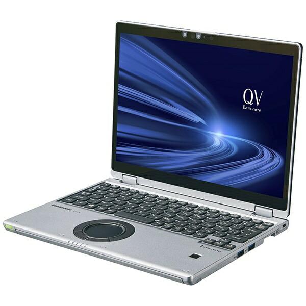 パナソニックPanasonicCF-QV9CDMQRノートパソコンレッツノートQVシリーズ(タッチパネル)ブラック&シルバー[12.0型/intelCorei5/SSD:256GB/メモリ:16GB/2021年1月モデル]【point_rb】