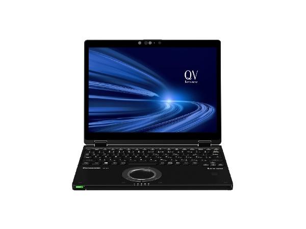パナソニックPanasonicCF-QV9DFNQRノートパソコンレッツノートQVシリーズ(LTEタッチパネル)ブラック[12.0型/intelCorei7/SSD:512GB/メモリ:16GB/2021年1月モデル]【point_rb】