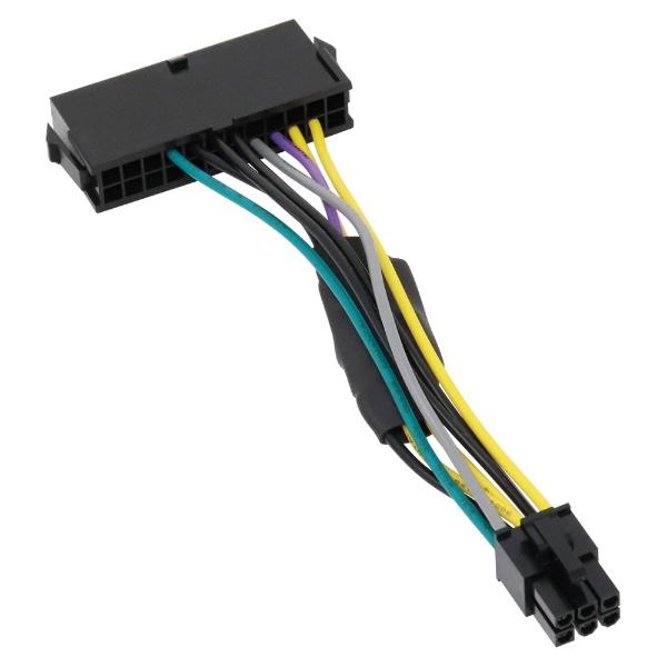 アイネックスainexDell用ATX電源変換ケーブル6ピン用WAX-24DL6