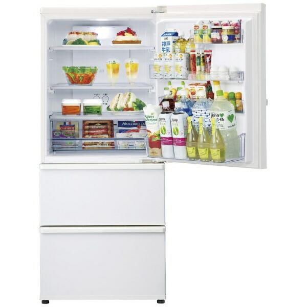 AQUAアクア冷蔵庫ウォームホワイトAQR-27K-W[3ドア/右開きタイプ/272L]《基本設置料金セット》