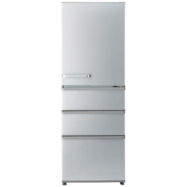 AQUAアクア冷蔵庫ブライトシルバーAQR-36K-S[4ドア/右開きタイプ/355L]《基本設置料金セット》