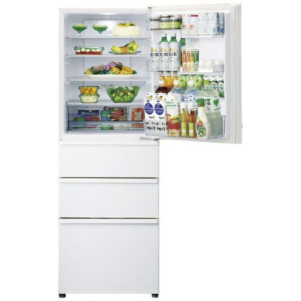 AQUAアクア冷蔵庫ウォームホワイトAQR-36K-W[4ドア/右開きタイプ/355L]《基本設置料金セット》