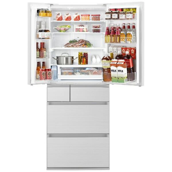 パナソニックPanasonic冷蔵庫HPXタイプアルベロホワイトNR-F557HPX-W[6ドア/観音開きタイプ/550L]《基本設置料金セット》