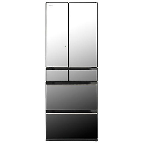 日立HITACHI冷蔵庫HXタイプクリスタルミラーR-HX60R-X[6ドア/観音開きタイプ/602L]《基本設置料金セット》