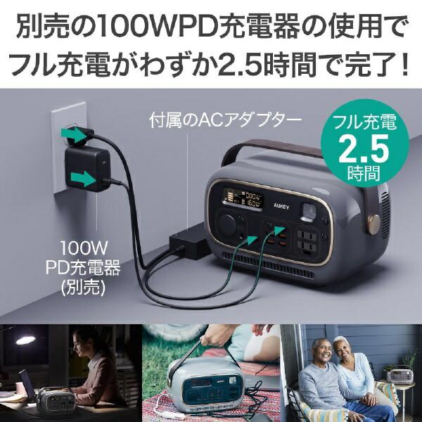 AUKEYオーキーAUKEY(オーキー)ポータブル電源PowerStudio300ブルーAUKEY(オーキー)BLUEPS-RE03-BU