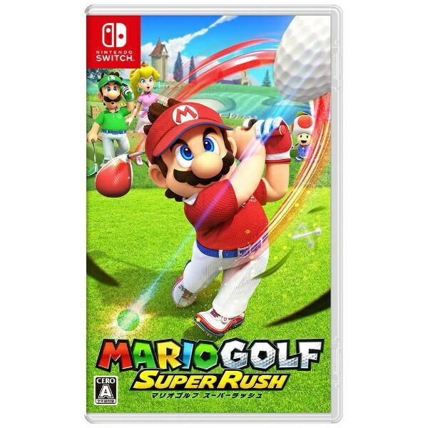 任天堂Nintendoマリオゴルフスーパーラッシュ【Switch】【代金引換配送不可】