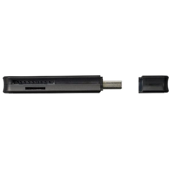 ナカバヤシNakabayashiUSB3.2Gen1(3.0)SDカードリーダーブラック[USB3.1]