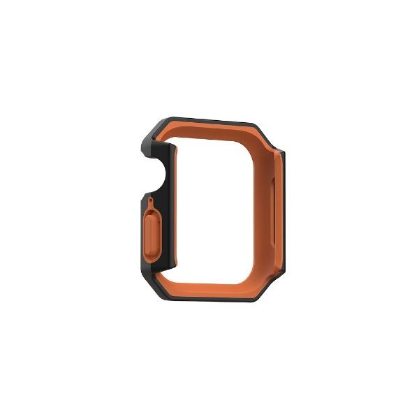 UAGURBANARMORGEARUAG社製AppleWatchCIVILIANケース用44mmブラック/オレンジUAG-RAWLCC-BK/OR