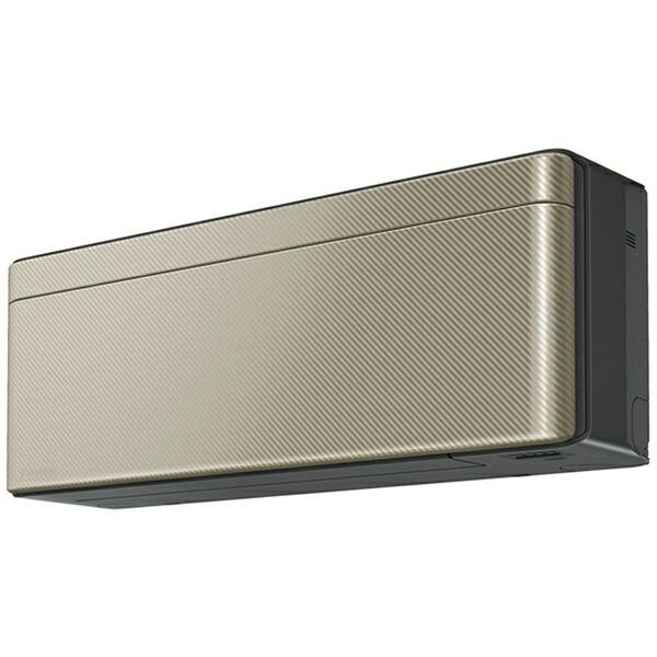 ダイキンDAIKIN【標準工事費込み】AN22YSS-Nエアコン2021年risora(リソラ)Sシリーズツイルゴールド[おもに6畳用/100V]