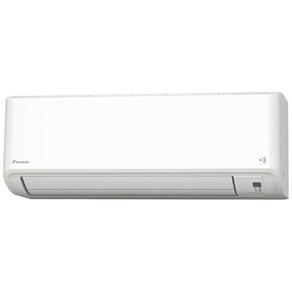 ダイキンDAIKIN【標準工事費込み】AN28YVS-Wエアコン2021年Vシリーズホワイト[おもに10畳用/100V]