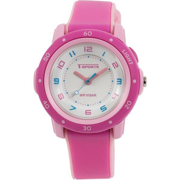 クレファーCREPHAアナログ腕時計ピンクTS-A109-PK