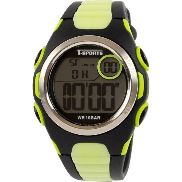 クレファーCREPHAデジタル腕時計グリーンTS-D113-GN