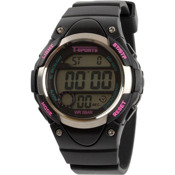 クレファーCREPHAデジタル腕時計ブラックTS-D131-BK