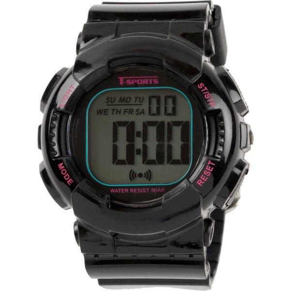 クレファーCREPHAデジタル腕時計ブラックTS-D132-BK
