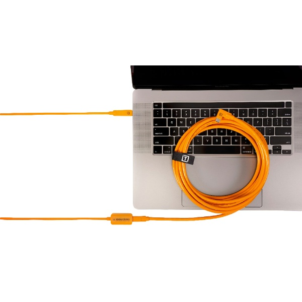 テザーツールズTetherToolsテザーブーストプロUSB-CコアコントローラーエクステンションケーブルオレンジTBPRO3-ORG