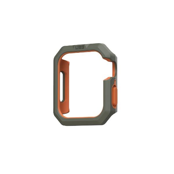UAGURBANARMORGEARUAG社製AppleWatchCIVILIANケース用44mmオリーブ/オレンジUAG-RAWLCC-OL/OR