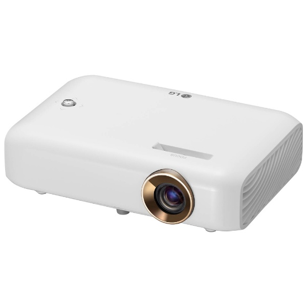 LGポータブルプロジェクターCineBeamホワイトPH510PG