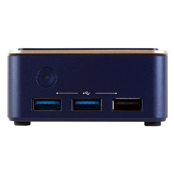 ECSイーシーエスデスクトップパソコンLIVAQ1DLIVAQ1D-4/64-W10Pro(N3350)[モニター無し/intelCeleron/メモリ:4GB/eMMC:64GB/2021年3月モデル]