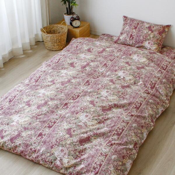 小栗OGURI毛布カバー日本製綿100%ガーゼシングルサイズ(約145×205cm)ラクシュミーピンクピンク5842_83_16