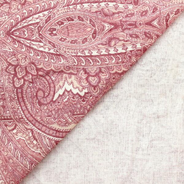 小栗OGURI毛布カバー日本製綿100%ガーゼシングルサイズ(約145×205cm)ヴィラースピンク5842_84_16