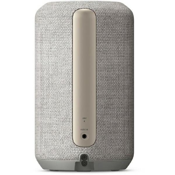 ソニーSONYブルートゥーススピーカーライトグレーSRS-RA3000HM[Bluetooth対応/Wi-Fi対応]
