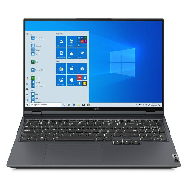 レノボジャパンLenovoゲーミングノートパソコンLegion560Proストームグレー82JQ005NJP[16.0型/AMDRyzen7/メモリ:16GB/SSD:1TB/2021年4月モデル]