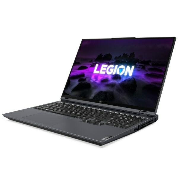 レノボジャパンLenovo82JQ005PJPゲーミングノートパソコンLegion560Proストームグレー[16.0型/AMDRyzen7/SSD:512GB/メモリ:16GB/2021年3月モデル]