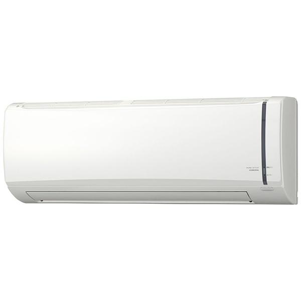 コロナCORONA【標準工事費込み】RC-V2821R-Wエアコン2021年Relala(リララ)冷房専用シリーズホワイト[おもに10畳用/100V]【point_rb】