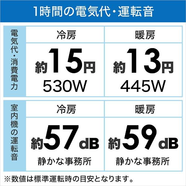 東芝TOSHIBA【標準工事費込み】RAS-H221M-Wエアコン2021年H-Mシリーズホワイト[おもに6畳用/100V]【point_rb】